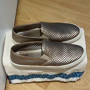 Tory Burch Perforated Slip-on Sneakers